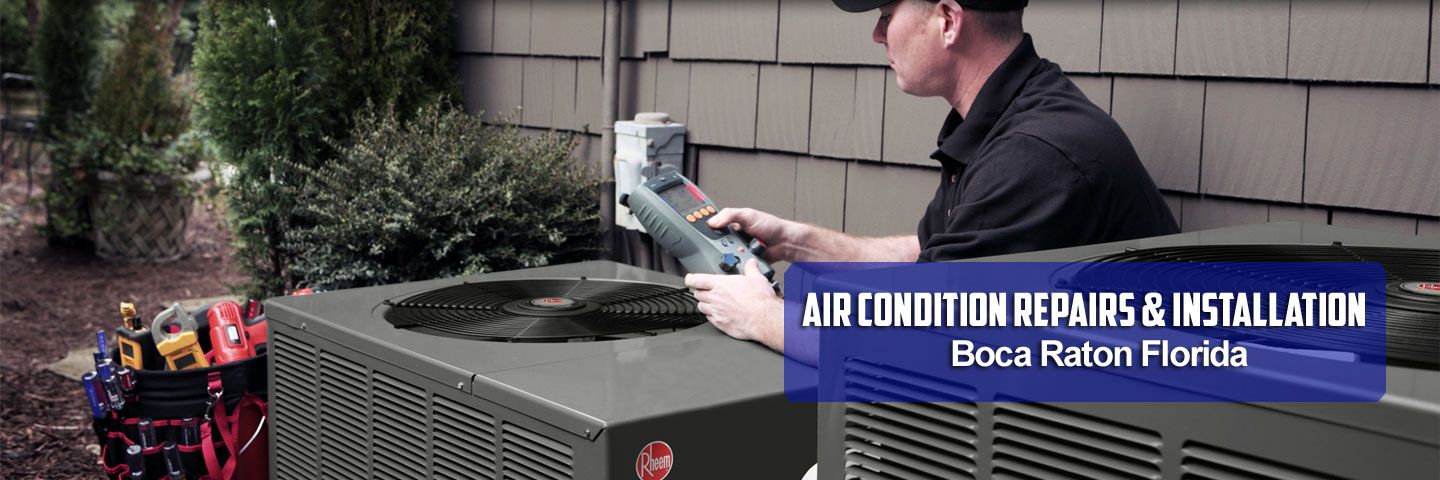 AC repair in Boca Raton