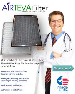 AIRTEVA Custom AC filters from air sponge